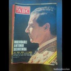 Coleccionismo de Los Domingos de ABC: INOLVIDABLE ANTONIO BIENBENIDA. Lote 119607811