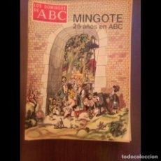 Collectionnisme de Los Domingos de ABC: MINGOTE, 25 AÑOS EN ABC. Lote 119609987