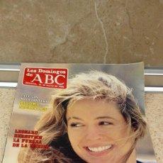 Coleccionismo de Los Domingos de ABC: REVISTA SEMANAL, LOS DOMINGOS DE ABC, LYDIA EL SALTO A LA PANTALLA GRANDE25-5-1986.. Lote 121520751