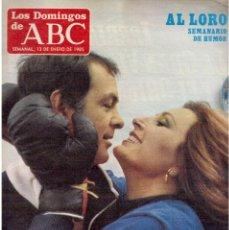 Coleccionismo de Los Domingos de ABC: 1985. ROCIO JURADO. VICTORIA ABRIL.LEONARD COHEN.SERRAT.OLÉ-OLÉ. VER SUMARIO.... Lote 122098579