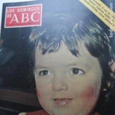 Coleccionismo de Los Domingos de ABC: LOS DOMINGOS DE ABC -06-02-1976 ROSA MARIA LA HEIDI ESPAÑOLA . Lote 122134851