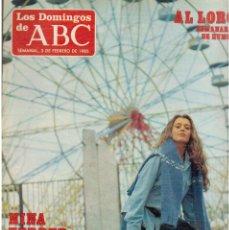 Coleccionismo de Los Domingos de ABC: 1985. NINA FERRER.ELENA BORBON.FLAVIA ZARZO.ADRIANA VEGA. VER SUMARIO. Lote 122136819