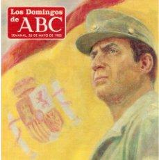 Coleccionismo de Los Domingos de ABC: 1985.BICENTENARIO DE LA BANDERA. AMPARO MENOR. AMAIA LASA. VER SUMARIO. Lote 122168627