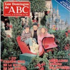 Coleccionismo de Los Domingos de ABC: 1987. TERENCI MOIX. FEDERICO MAYOR ZARAGOZA. PALOMA SAN BASILIO. . Lote 122214331