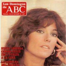 Coleccionismo de Los Domingos de ABC: 1987. SILVIA TORTOSA. MARÍA MANUELA REINA. THE HOUSEMARTINS. LOS NIÑOS DE SAN ILDEFONSO.. Lote 122216339