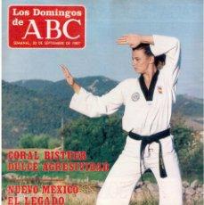 Coleccionismo de Los Domingos de ABC: 1987. CORAL BISTUER. ANGEL NIETO. THE BEATLES. MICHAEL JACKSON. WHITNEY HOUSTON.. Lote 122276999