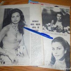 Coleccionismo de Los Domingos de ABC: RECORTE PRENSA : NATHALIE HOCQ, NUEVA JOYA DE CARTIER.DOMINGOS ABC, JULIO 1975. Lote 122649907