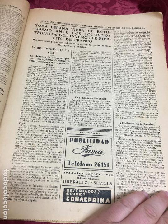 Collection Los Domingos de ABC: PERIODICO ABC 17 ENERO DE 1939 - FRANCO ARTIFICE DE LA RECONQUISTA DE ESPAÑA - Foto 5 - 122974895