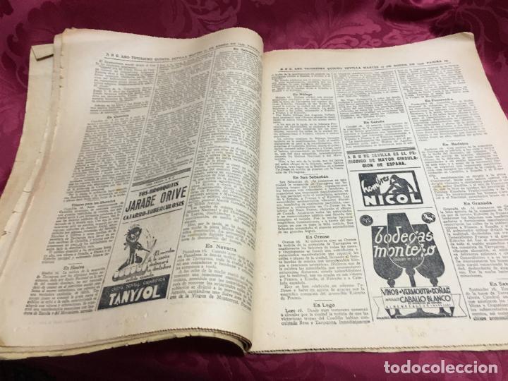 Collection Los Domingos de ABC: PERIODICO ABC 17 ENERO DE 1939 - FRANCO ARTIFICE DE LA RECONQUISTA DE ESPAÑA - Foto 6 - 122974895