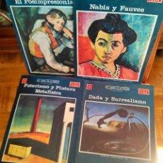 Coleccionismo de Los Domingos de ABC: LOS ISMOS DE LA PINTURA FASCÍCULOS Nº 2,4,7 Y 8. Lote 125082579