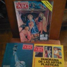 Coleccionismo de Los Domingos de ABC: 3 REVISTAS 14DIC1975, 20JUN1976 Y 04JUL1976 . Lote 125083211