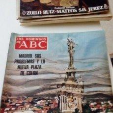 Coleccionismo de Los Domingos de ABC: C-15OG18 REVISTA LOS DOMINGOS DE ABC 15 MAYO 1977 PLAZA DE COLON. Lote 125224135