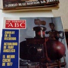 Coleccionismo de Los Domingos de ABC: C-15OG18 REVISTA LOS DOMINGOS DE ABC 8 ENERO 1978 ESCULTOR COOMONTE . Lote 125224291