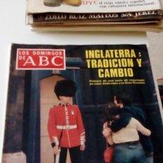 Coleccionismo de Los Domingos de ABC: C-15OG18 REVISTA LOS DOMINGOS DE ABC 27 NOVIEMBRE 1977 INGLATERRA TRADICION Y CAMBIO. Lote 125224431