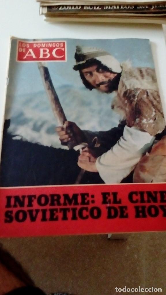 C-15OG18 REVISTA LOS DOMINGOS DE ABC 13 NOVIEMBRE 1977 INFORME EL CINE SOVIETICO DE HOY (Coleccionismo - Revistas y Periódicos Modernos (a partir de 1.940) - Los Domingos de ABC)