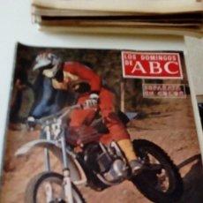 Coleccionismo de Los Domingos de ABC: C-15OG18 REVISTA LOS DOMINGOS DE ABC 29 MAYO 1977 EL MUNDO JOVEN DE LAS MOTOS . Lote 125224607