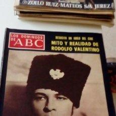 Coleccionismo de Los Domingos de ABC: C-15OG18 REVISTA LOS DOMINGOS DE ABC 18 DICIEMBRE 1977 MITO Y REALIDAD DE RODOLFO VALENTINO. Lote 125224751