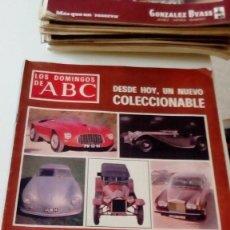 Coleccionismo de Los Domingos de ABC: C-15OG18 REVISTA LOS DOMINGOS DE ABC 16 OCTUBRE 1977 LOS MEJORES COCHES DE LA HISTORIA. Lote 125224935