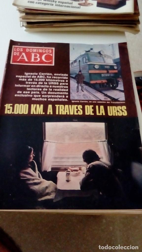 C-15OG18 REVISTA LOS DOMINGOS DE ABC 29 DE ENERO DE 1978 15000 KM A TRAVES DE LA URSS (Coleccionismo - Revistas y Periódicos Modernos (a partir de 1.940) - Los Domingos de ABC)