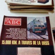 Coleccionismo de Los Domingos de ABC: C-15OG18 REVISTA LOS DOMINGOS DE ABC 29 DE ENERO DE 1978 15000 KM A TRAVES DE LA URSS . Lote 125225055
