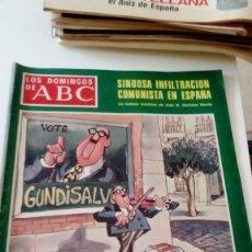 Coleccionismo de Los Domingos de ABC: C-15OG18 REVISTA LOS DOMINGOS DE ABC 12 DE JUNIO 1977 SINUOSA INFILTRACION COMUNISTA EN ESPAÑA . Lote 125225323