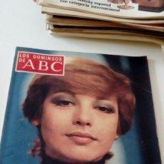 Coleccionismo de Los Domingos de ABC: C-15OG18 REVISTA LOS DOMINGOS DE ABC 17 DE ABRIL 1977 ISABEL TENAILLE. Lote 125225471