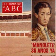 Coleccionismo de Los Domingos de ABC: 1977. CONTRAALMIRANTE PIELTAIN. SE RUEDA EN CORFU. LA MODA EQUILIBRADA DE CONCHITA VILAMITJANA.. Lote 126214563