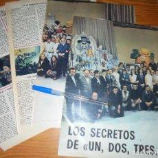 Colecionismo de Los Domingos de ABC: RECORTE PRENSA : LOS SECRETOS DE UN, DOS, TRES.... DOMINGOS ABC, MAYO 1976. Lote 126340487