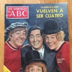 Coleccionismo de Los Domingos de ABC: REVISTA LOS DOMINGOS DEL ABC, 30 ENERO 1977, LOS PAYASOS DE LA TELE. Lote 126727931