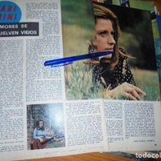 Coleccionismo de Los Domingos de ABC: RECORTE PRENSA : MARI TRINI, AMORES SE VUELVEN VIEJOS. DOMINGOS ABC, SEPTMB 1971. Lote 128607463