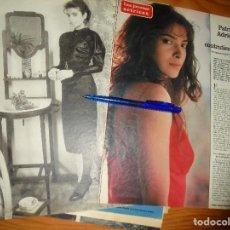 Coleccionismo de Los Domingos de ABC: RECORTE PRENSA : JOVENES ACTRICES : PATRICIA ADRIANI. DOMINGOS ABC, FBREO 1971. Lote 128607607