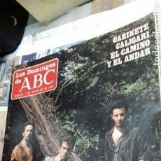 Coleccionismo de Los Domingos de ABC: LOS DOMINGOS DE ABC.GABINETE CALIGARI.1017. Lote 192527946