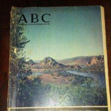 Coleccionismo de Los Domingos de ABC: PERIODICO ABC 26 NOVIEMBRE DE 1967 - AL PASO DEL RÍO. Lote 130872284
