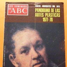 Coleccionismo de Los Domingos de ABC: RECORTE PRENSA / DOSSIER: AÑO GOYA - LOS DOMINGOS DE ABC - 10 PAGS. - 1978. Lote 131068336