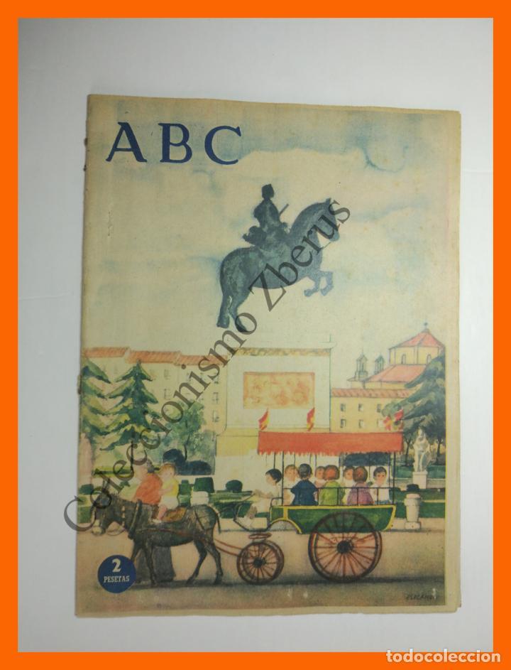 ABC 23 SEPTIEMBRE 1956 - TURISTAS MALLORCA; JUAN VALERA; ESCUELA CERAMICA; MUCHAMIEL Y JIJONA (Coleccionismo - Revistas y Periódicos Modernos (a partir de 1.940) - Los Domingos de ABC)