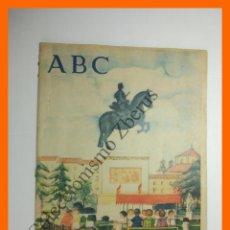 Collectionnisme de Los Domingos de ABC: ABC 23 SEPTIEMBRE 1956 - TURISTAS MALLORCA; JUAN VALERA; ESCUELA CERAMICA; MUCHAMIEL Y JIJONA. Lote 132462486