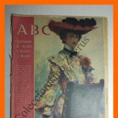 Coleccionismo de Los Domingos de ABC: ABC 23 OCTUBRE 1955 - ILUSTRADORES DE BLANCO Y NEGRO. Lote 206214242
