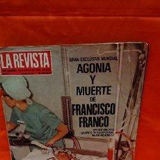 Coleccionismo de Los Domingos de ABC: LA REVISTA - 29 OCTUBRE 1984 - Nº 4 - AGONÍA Y MUERTE GENERALÍSIMO FRANCISCO FRANCO. Lote 243557045