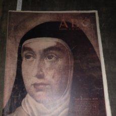 Coleccionismo de Los Domingos de ABC: ABC 13 OCTUBRE 1963 SANTA TERESA MISMA. Lote 133864627