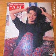 Coleccionismo de Los Domingos de ABC: LOS DOMINGOS DE ABC, 3 DE ABRIL 1983- PATRICIA ADRIANI, GRAU SANTOS- RENAULT 11- MINGOTE.... Lote 147432746