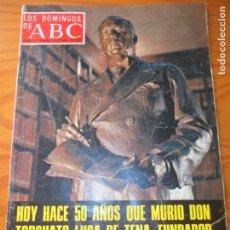 Colecionismo de Los Domingos de ABC: LOS DOMINGOS DE ABC, 15 DE ABRIL 1979- TORCUATO LUCA DE TENA- PALMA DE MALLORCA- GUERRA CIVIL.... Lote 134304350