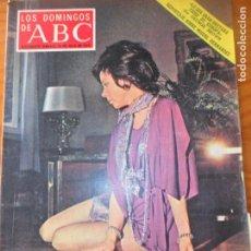 Coleccionismo de Los Domingos de ABC: LOS DOMINGOS DE ABC, 30 DE JULIO 1972- AURORA BAUTISTA- MIGUEL HERNANDEZ- HOLOGRAFIA- CANADA.... Lote 134305414