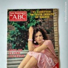 Coleccionismo de Los Domingos de ABC: REVISTA SEMANAL LOS DOMINGOS DE ABC AÑO 1985 AGATA LYS. Lote 134310646