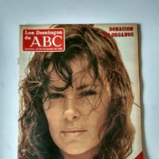 Coleccionismo de Los Domingos de ABC: REVISTA SEMANAL LOS DOMINGOS DE ABC AÑO 1985 ANA OBREGON. Lote 134311474