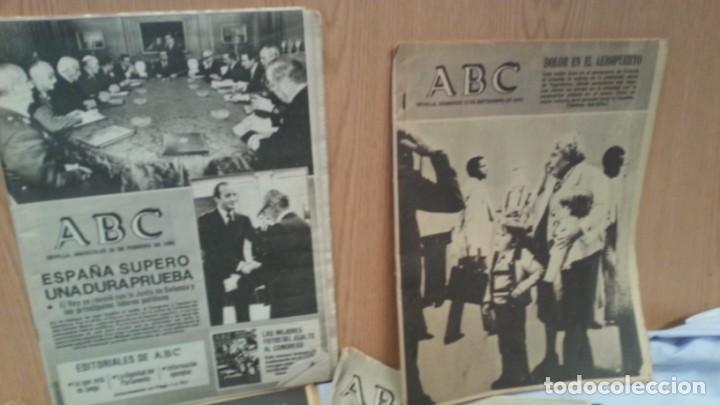 Coleccionismo de Los Domingos de ABC: Periódicos ABC. Conjunto de 8 ejemplares. Años 1970-1980 Todos diferentes. - Foto 2 - 135790150