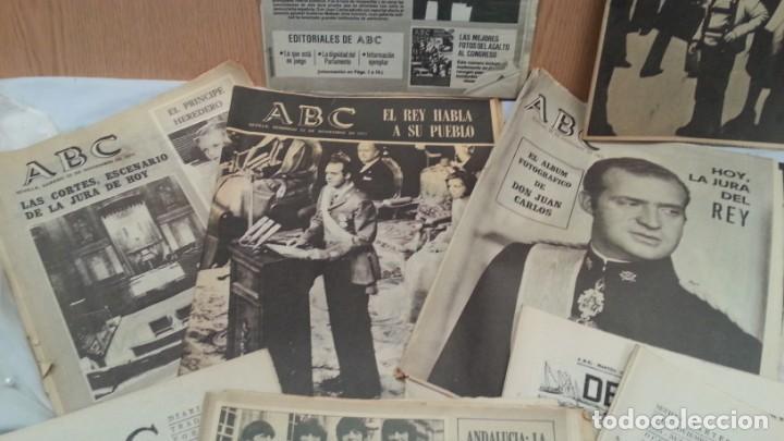 Coleccionismo de Los Domingos de ABC: Periódicos ABC. Conjunto de 8 ejemplares. Años 1970-1980 Todos diferentes. - Foto 3 - 135790150