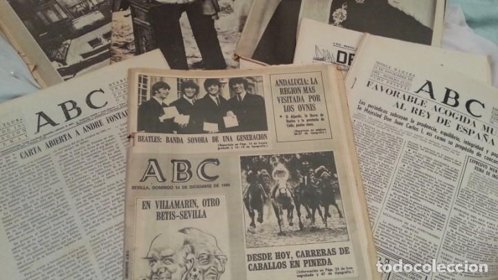 Coleccionismo de Los Domingos de ABC: Periódicos ABC. Conjunto de 8 ejemplares. Años 1970-1980 Todos diferentes. - Foto 4 - 135790150