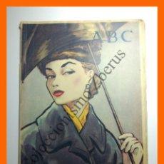 Colecionismo de Los Domingos de ABC: ABC 3 NOVIEMBRE 1957 - ARTE POPULAR; VINO EN LITERATURA BIBLICA; LA FLORECIENTE CIUDAD DE PLASENCIA. Lote 136074382