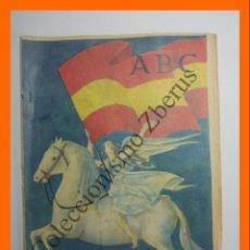 Colecionismo de Los Domingos de ABC: ABC 31 MARZO 1957 - ULTIMA FASE DE LA CRUZADA; PUERTO DE LA LUZ (LAS PALMAS); LAGO BICIBERRI; PAYASO. Lote 136093890