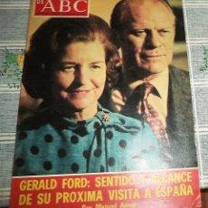 Coleccionismo de Los Domingos de ABC: DOMINGOS ABC-MAYO 1975-ANTONIO BIENVENIDA-SANDRA MOZARDWSKI-GERALD FORD-REAL MADRID COLECCIONABLE 6. Lote 137359722